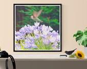 bird photograph art print...