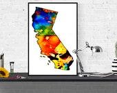 California illustration a...