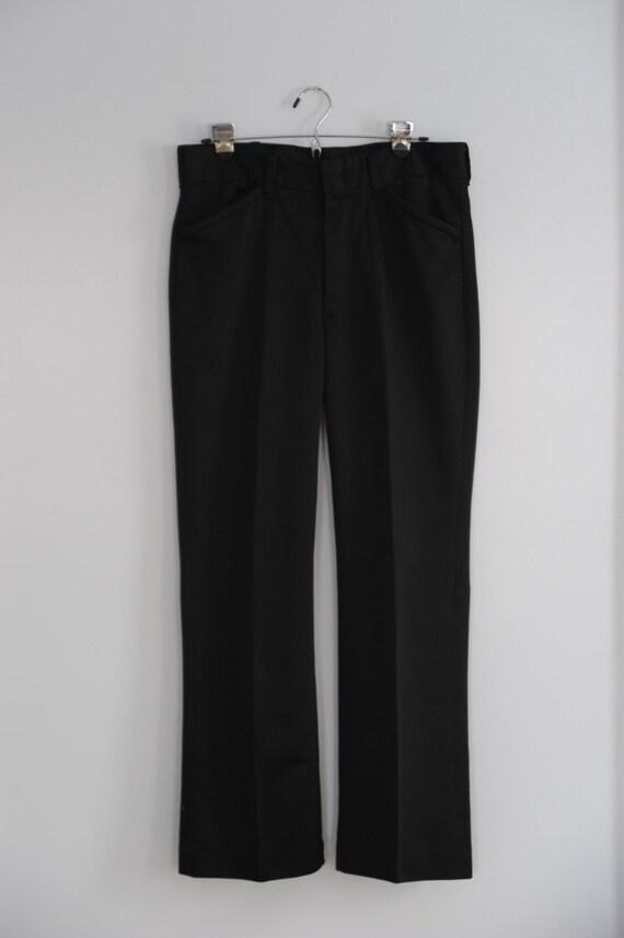 Vintage Mens Black Dress Pants By Farah Etsy