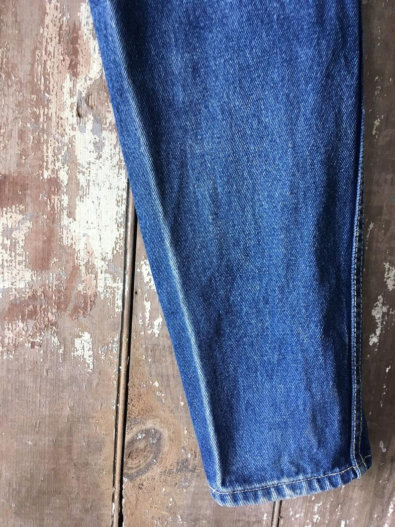 Vintage 1980s PS Gitano Denim Jeans 100 Percent Cotton Free Shipping lower 48 US