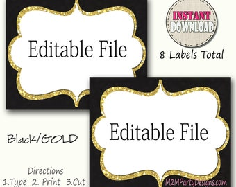 Superb Candy Buffet Labels Etsy Download Free Architecture Designs Scobabritishbridgeorg