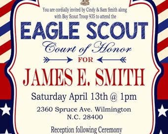 Boy Scout Invite