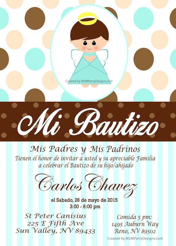 Tarjetas De Bautizo Y Comunion Invitaciones De Bautismo Recuardos Personalizados Que Imprimes En Casa