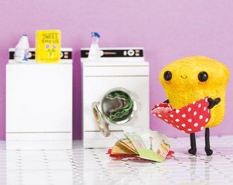 Laundry Day Postcard