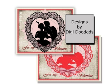 Old Valentine Cards Etsy