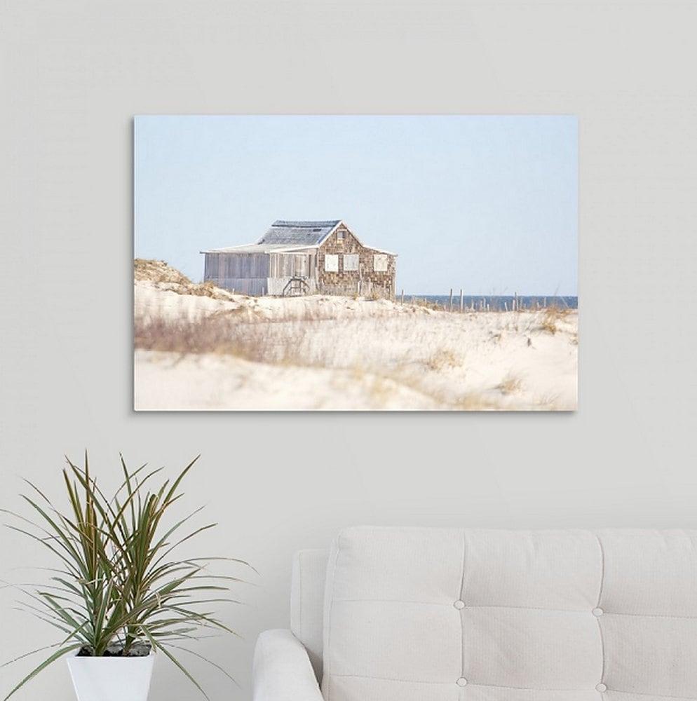Jersey Shore Sites Canvas Wall Art Print Coastal Home Decor