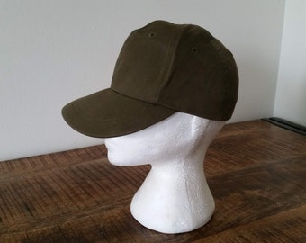 3343e4098cbca Vintage Vietnam War Era OG U.S Army Military Hot Weather Field Cap Hat Size  6 7 8
