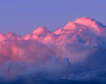 Thunder Clouds by Catherine Roché, Sunset Landscape Photography, Nature Photography, Clouds Photography, Blue Sky Photography, Fine Art