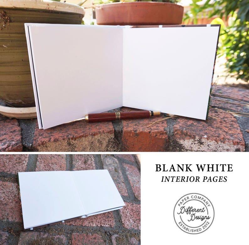 Photo Wedding Guest Book Modern Foil Wedding Guest Book Calligraphy Wedding Guestbook Personalized Hardcover Foil Guestbook Photo Guest Book