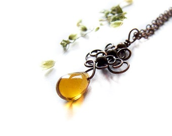 Wire Tutorial, Tea Drop Pendant Tutorial, Wire Wrapping Tutorial, Drop Tutorial, DIY, Jewelry Pattern Tutorial 40