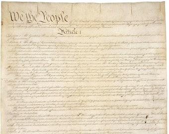 Constitution 30 ct Linen