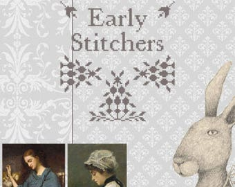 EARLY STITCHERS CLUB 2018 -subscription for 1 year -