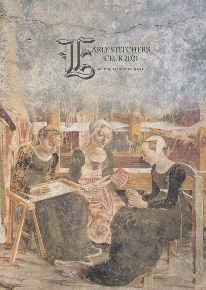 EARLY STITCHERS CLUB 2021 subscription for 2021 patterns  image 0