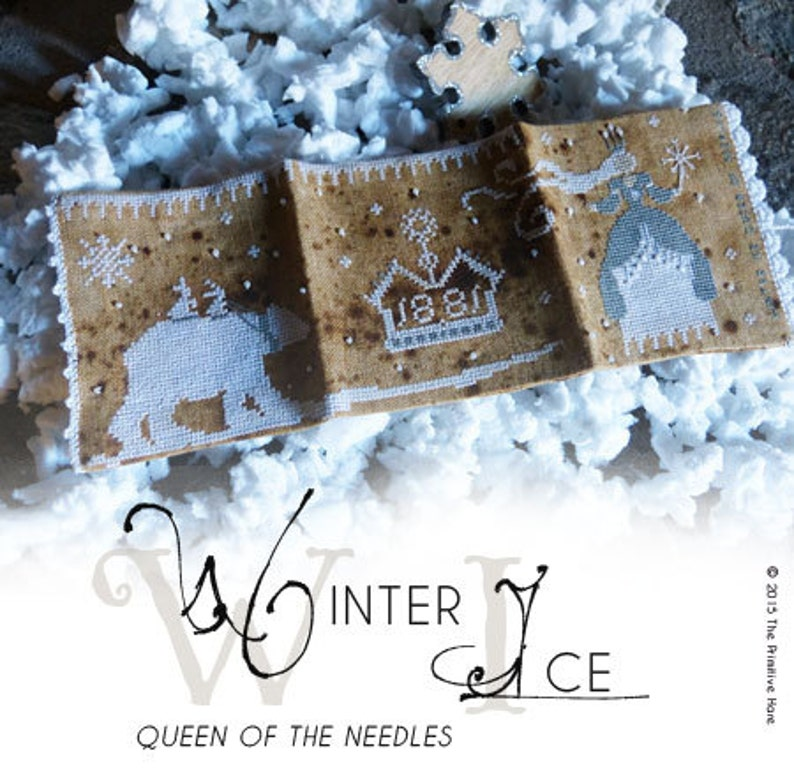 Winter Ice Queen of the needles PDF image 0