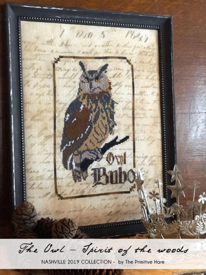 Owl PDF  Spirit of the woods series image 0