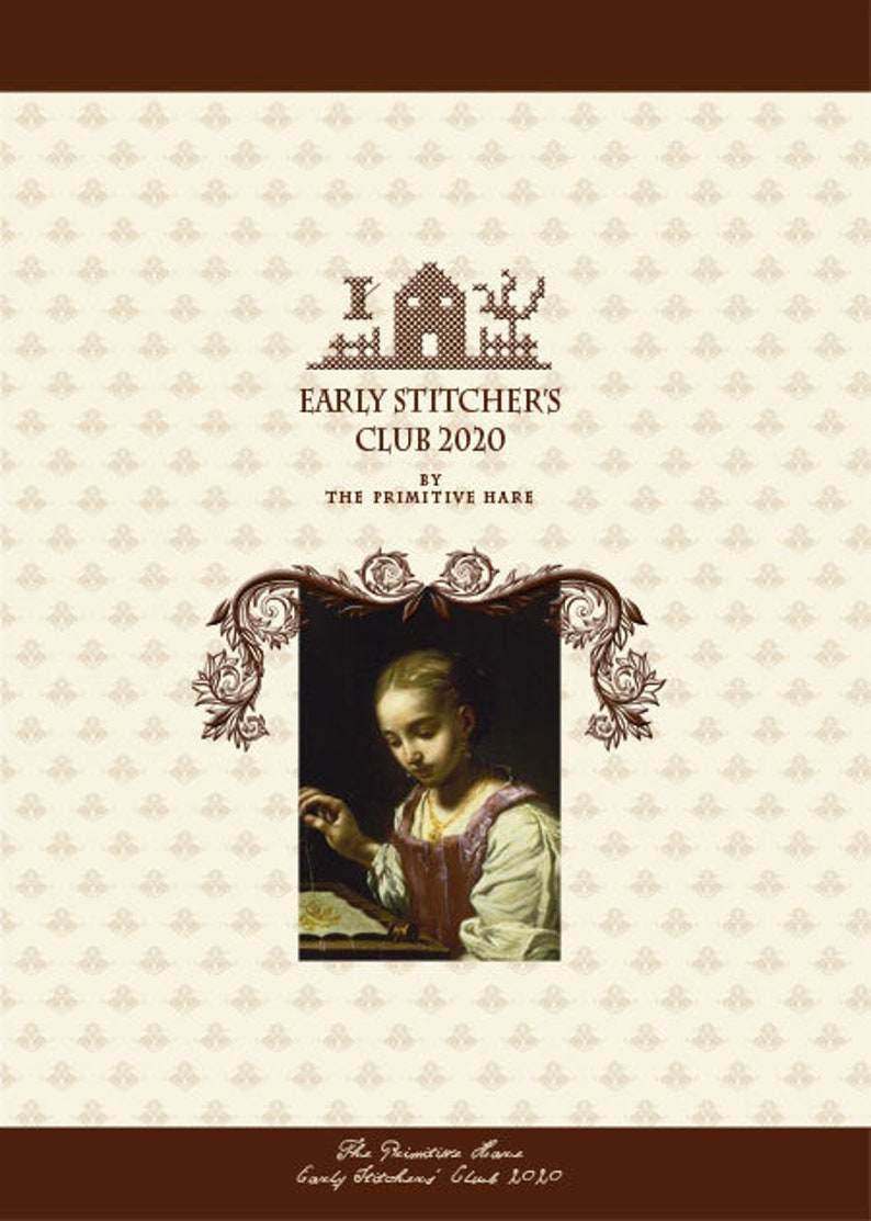 EARLY STITCHERS CLUB 2020 subscription for 2020 patterns  image 0