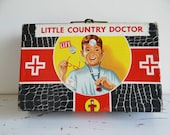 Vintage, Little Country Doctor playset, made by Transogram circa 1950