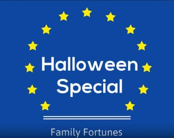 Family Fortunes / Family Feud - HALLOWEEN Special - Powerpoint Game - 10x FF Quiz Questions & Answers - Instant Digital Delivery