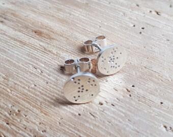 Boucles d'oreilles en argent Pastilles