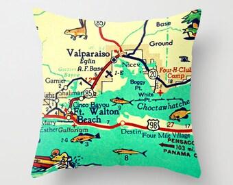 Map Of Destin Florida Area.Destin Florida Beach Art Destin Map Destin Fl Florida Art Etsy