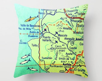 Puerto Vallarta World Map.Puerto Vallarta Map Etsy