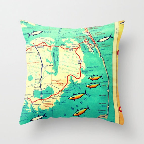 North Carolina Map Pillow Cover 18x18 High Graduation Gift for Her, on outer banks mile marker map, nags head map, oregon inlet outer banks map, nyc map, ogg map, travel map, fishing map, icon map, nc map, one map, otc map, ob map, hawk map, carolina outer banks map, old map, occ map, beach map, outer banks 4x4 map,