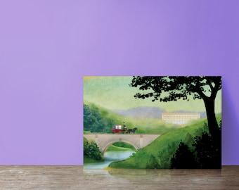 Jane Austen postcards, Elizabeth visits Pemberley (set of 5)