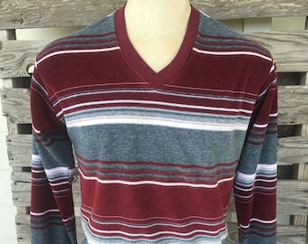 Campus Mens Velour 70's Shirt - Size Large