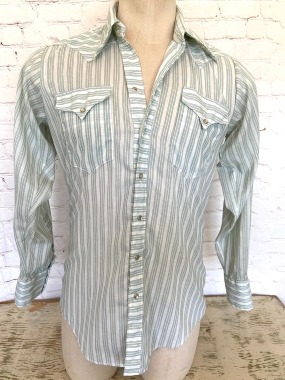 50's Rockmount Ranch Wear - Mens Western Shirt - M