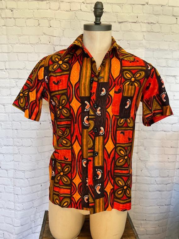 Retro 60s Hawaiian Shirt