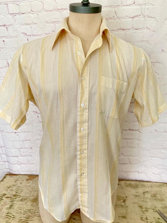 Arrow Kent Mens Short Sleeve Shirt - Large