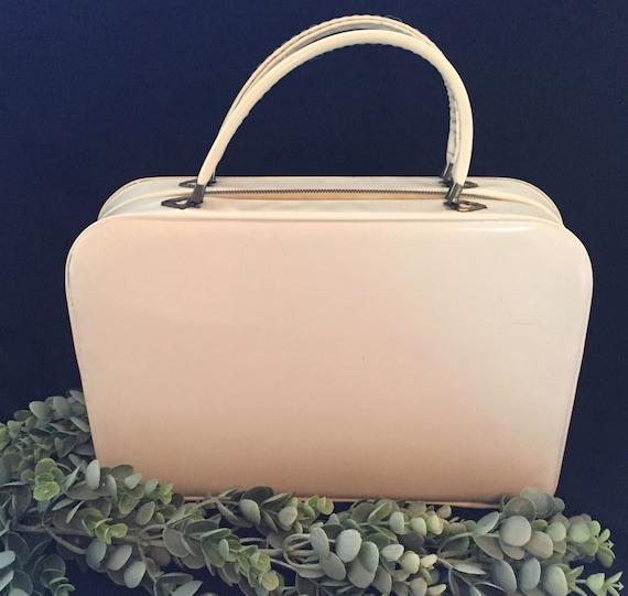 Vintage Tolin Off White Handbag