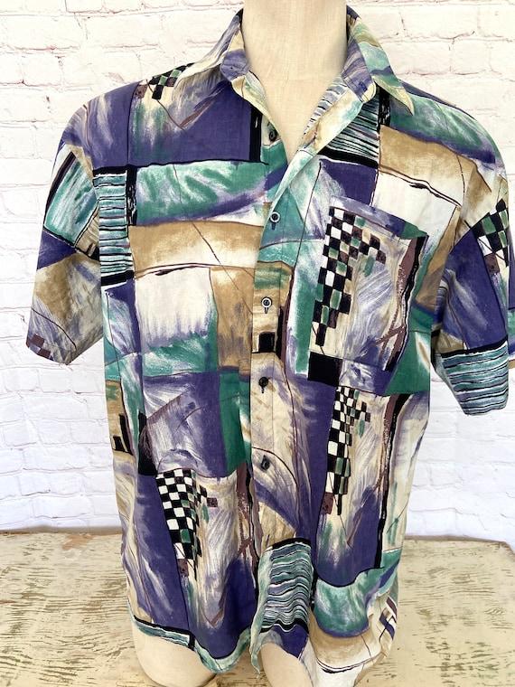 80s Expressions Mens Shirt - XL