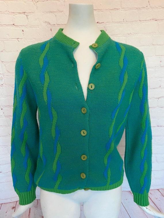 60s Detroit Knitting Mills Cardigan Sweater