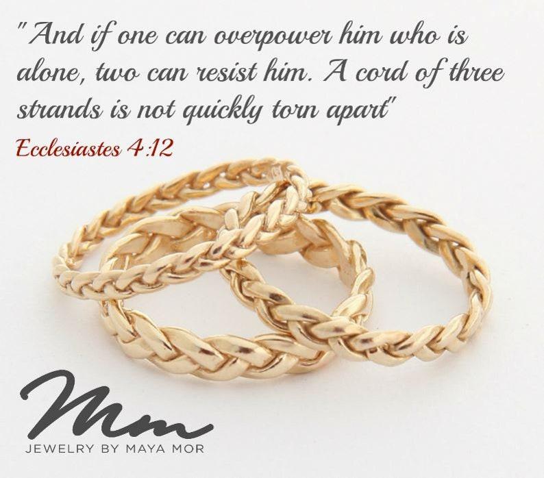 b73f30b4d8 Promise Ring for Her Love Promise Ring Love Knot Ring Womens   Etsy