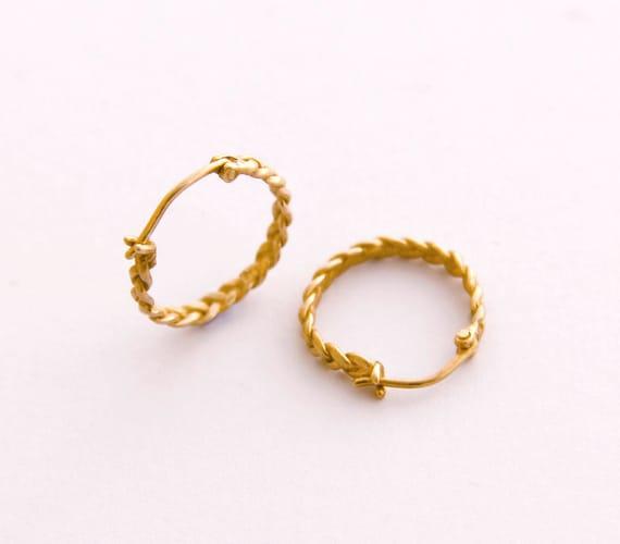 4 Stücke Mini Gold Metall Haar Kamm Clip Für Puppen PDH