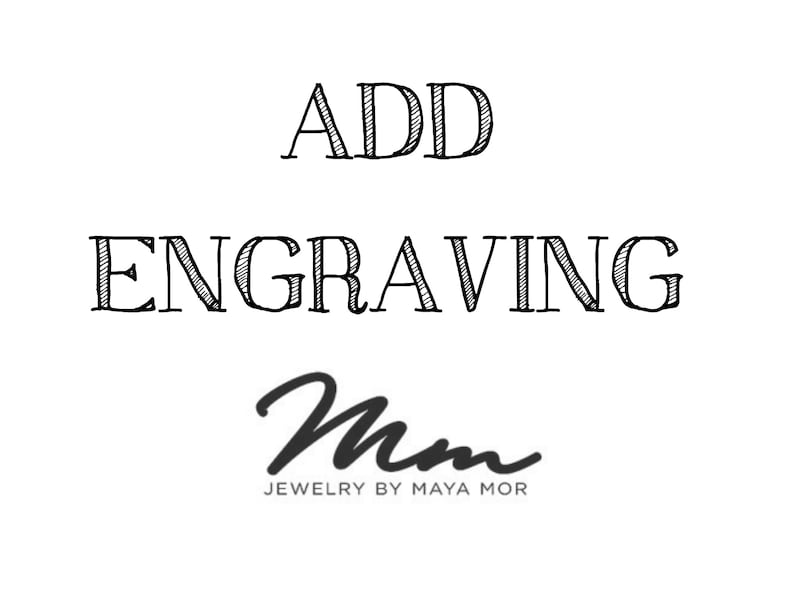 Add Engraving to specific listings in my shop image 0