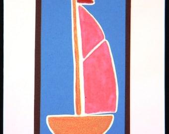 006 - Sailboat