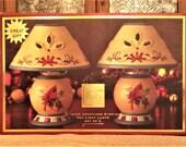 Lenox Winter Greetings Everyday Tea Light Lamps