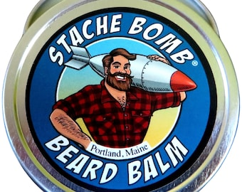 Stache Bomb Beard Balm- Beard Bomb from Maine