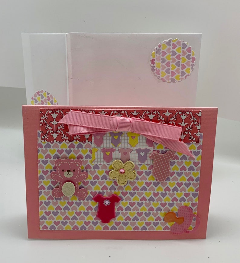 Congratulations Baby Girl Greeting Card with Matching Lined Envelope
