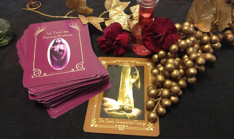 Le Tarot des Femmes Erotiques  one tarot card reading image 0