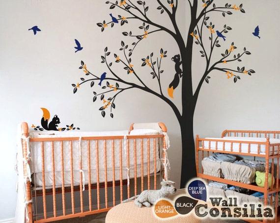Baum wand aufkleber kinderzimmer dekoration for Zimmer dekoration kinderzimmer