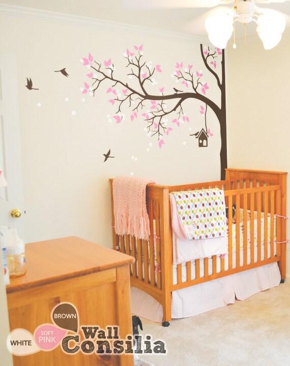Wandtattoo Kinderzimmer Dekoration Baum Wand Aufkleber | Etsy