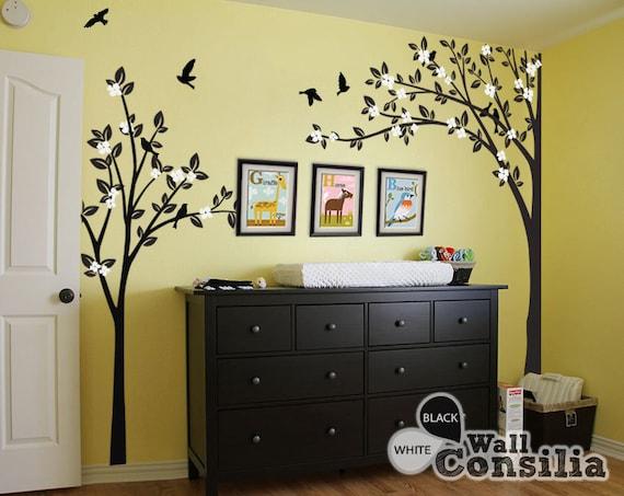 Baum Wand Aufkleber Kinderzimmer Dekoration | Etsy