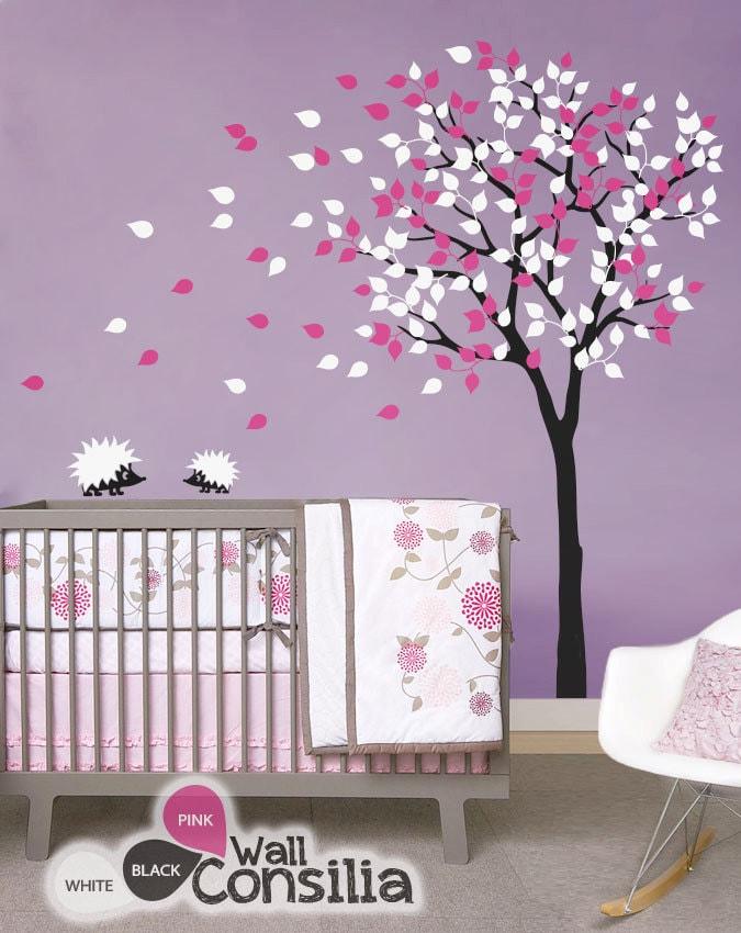 baby kinderzimmer wandtattoos baum wandtattoo. Black Bedroom Furniture Sets. Home Design Ideas