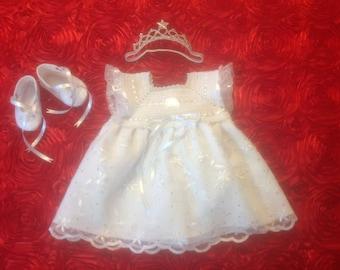 Newborn Baby Girl Dress - Princess