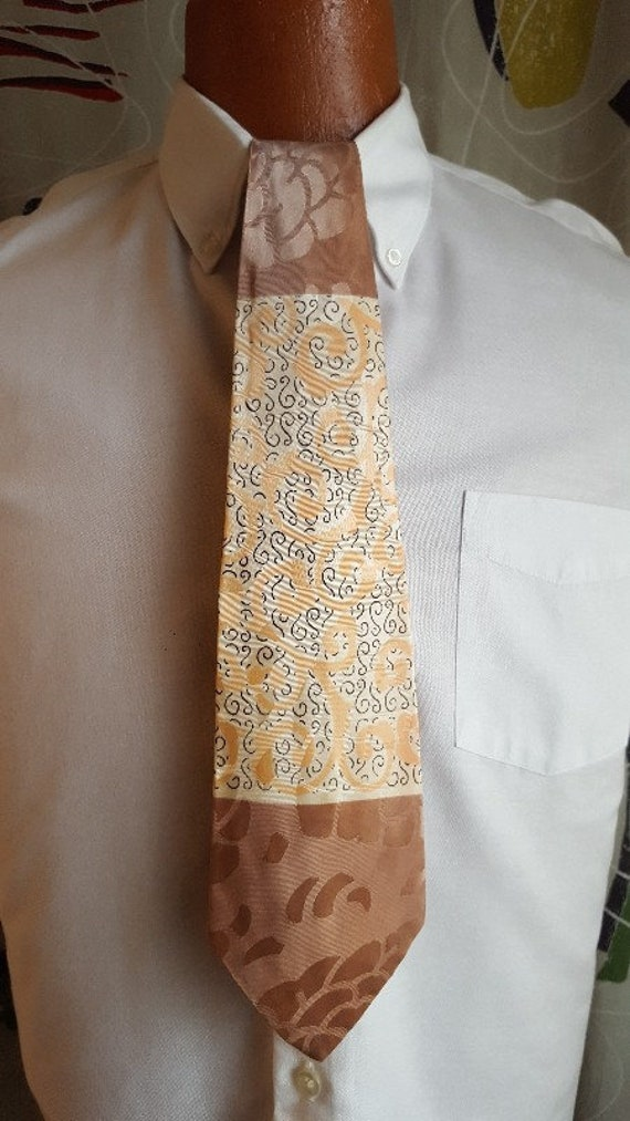 1940's Tie!! Rayon!