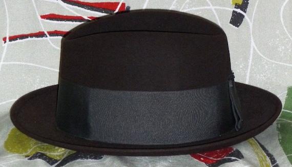 1950's Mens Hat!! Wool Felt!!