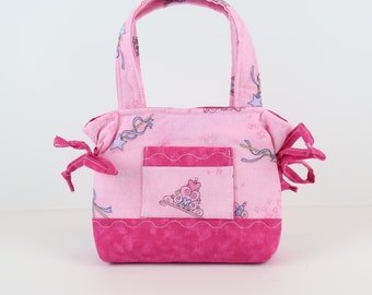 Child Girl Purse, Two Tone Pink, Girls Purse, Toddlers Gifts, Girls Gifts, Girls Handbag, Toddler Bag, Girl Accessories, Small Kids Bag